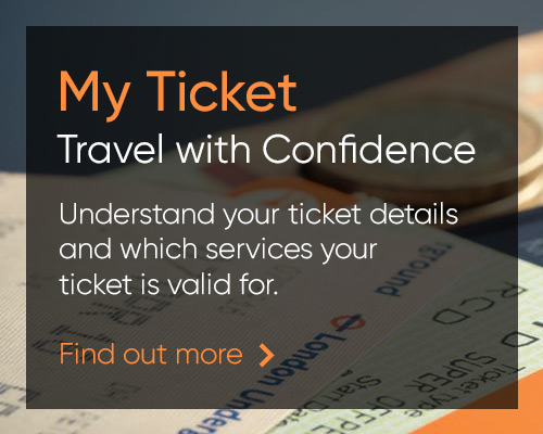 Understand your ticket details and which services your ticket is valid for.