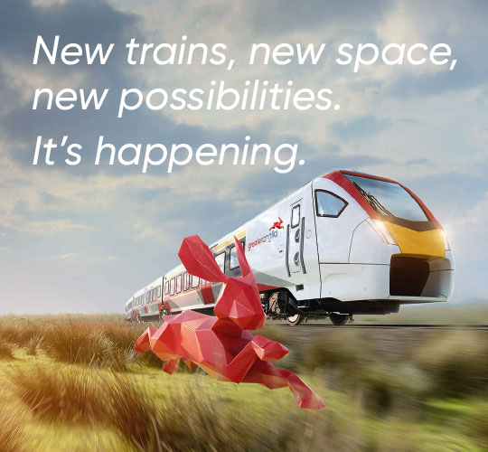 New Trains, new space, new possibilities. It's happening.