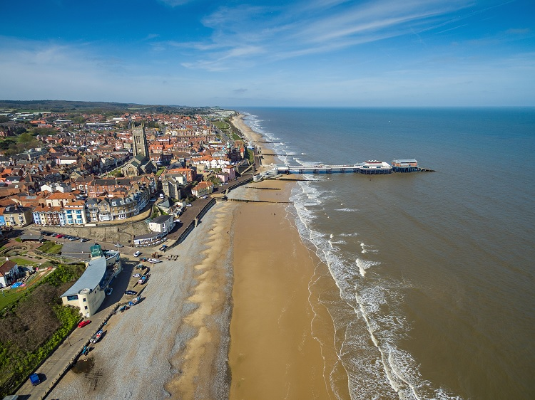Ariel view of Cromer by Chris T