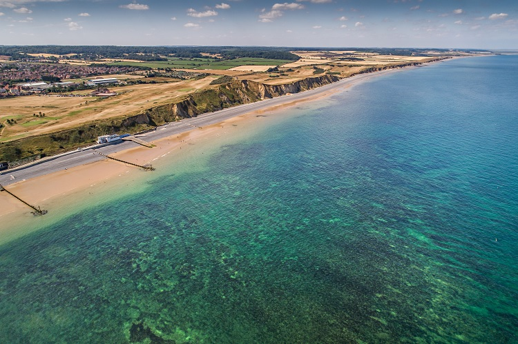 Reef at Sheringham by Chris T
