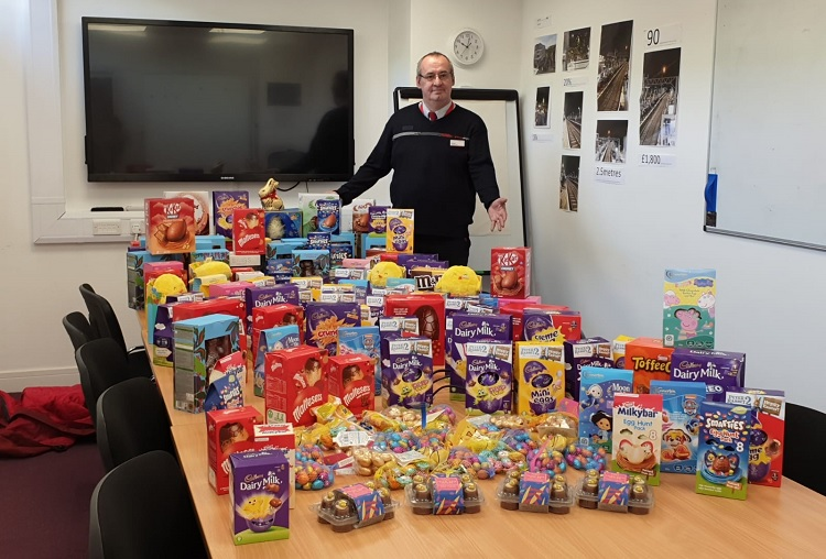 Easter donations