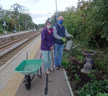 Dullingham station adopters