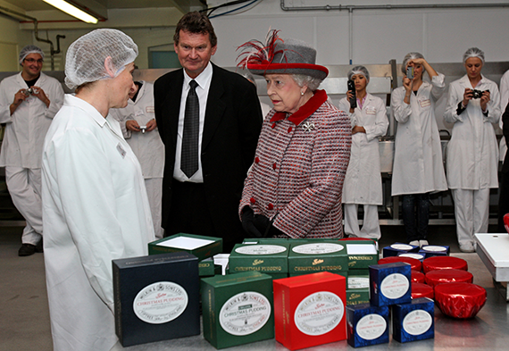 The Queen visits Tiptree