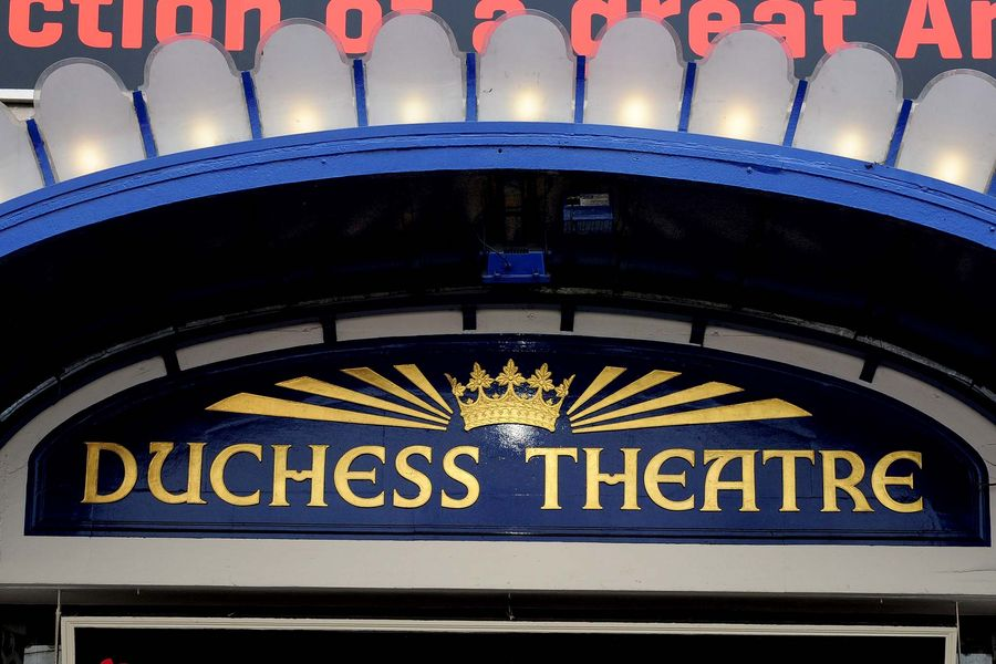 A general view of Duchess Theatre, in London