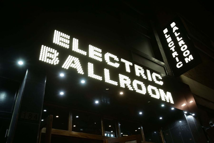 The Electric Ballroom music venue in Camden, London