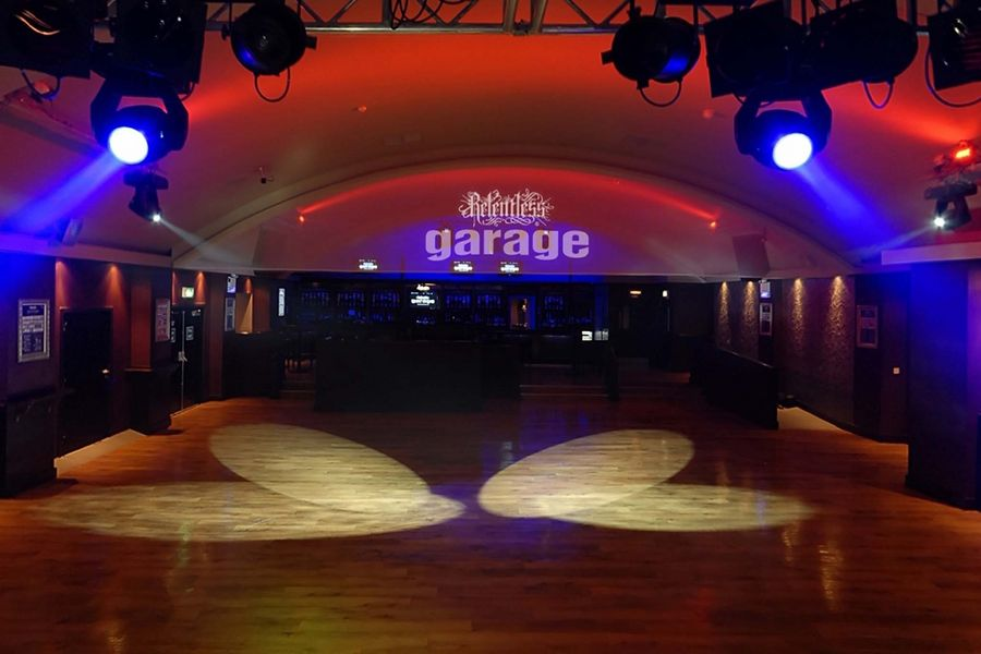 The interior of The Garage in London