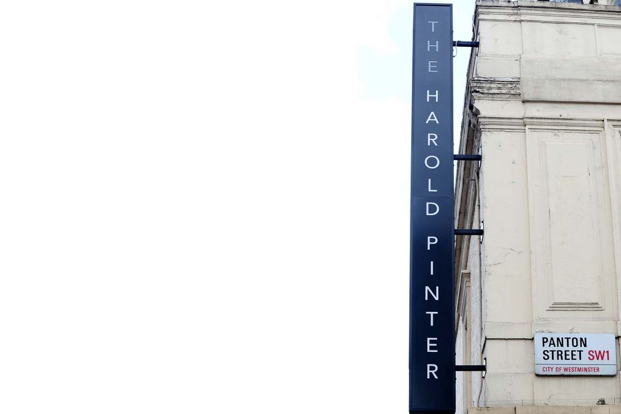 A general view of The Harold Pinter Theatre, in London