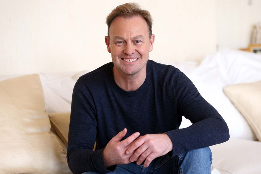 Jason Donovan photographed at Jeff Wayne's studio in Shenley ahead of the 40th anniversary tour of The War of The Worlds