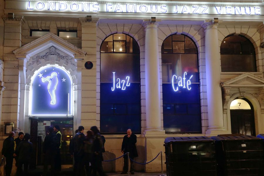 The Jazz Cafe music venue in Camden, London