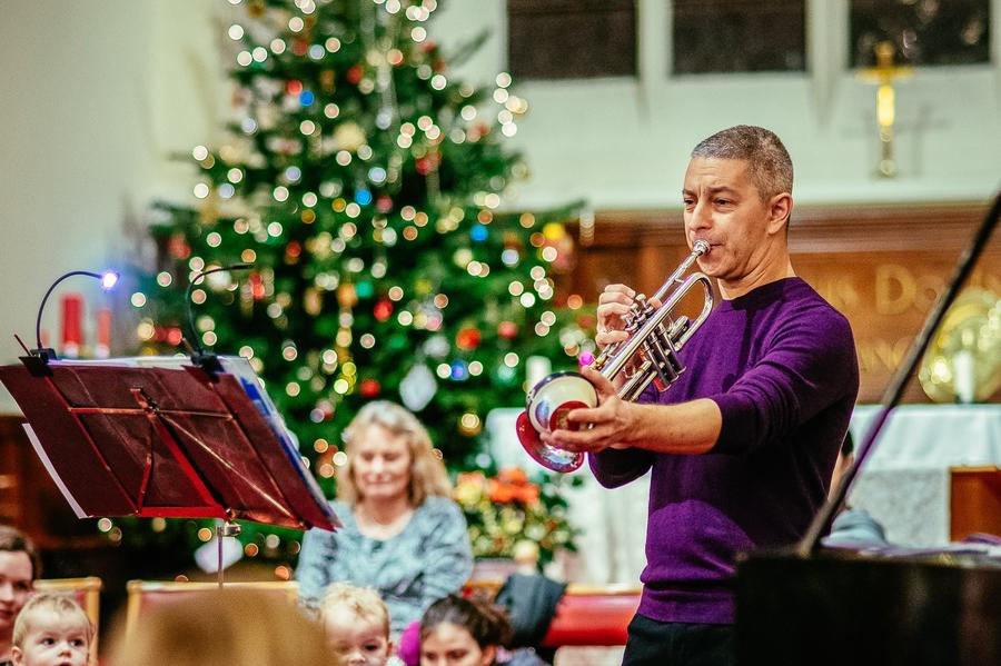 Bach to Baby Christmas Family Concert in Hampstead Burgh House