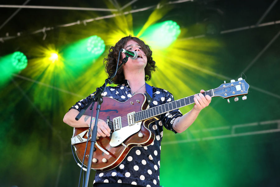 Kyle Falconer on the King Tuts Stage during the TRNSMT festival on Glasgow Green in Glasgow