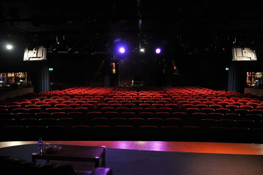 The main theatre space at Leicester Square Theatre in London