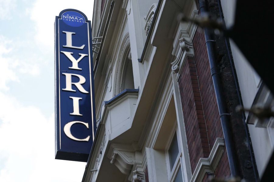The Lyric Theatre, Shaftesbury Avenue, London