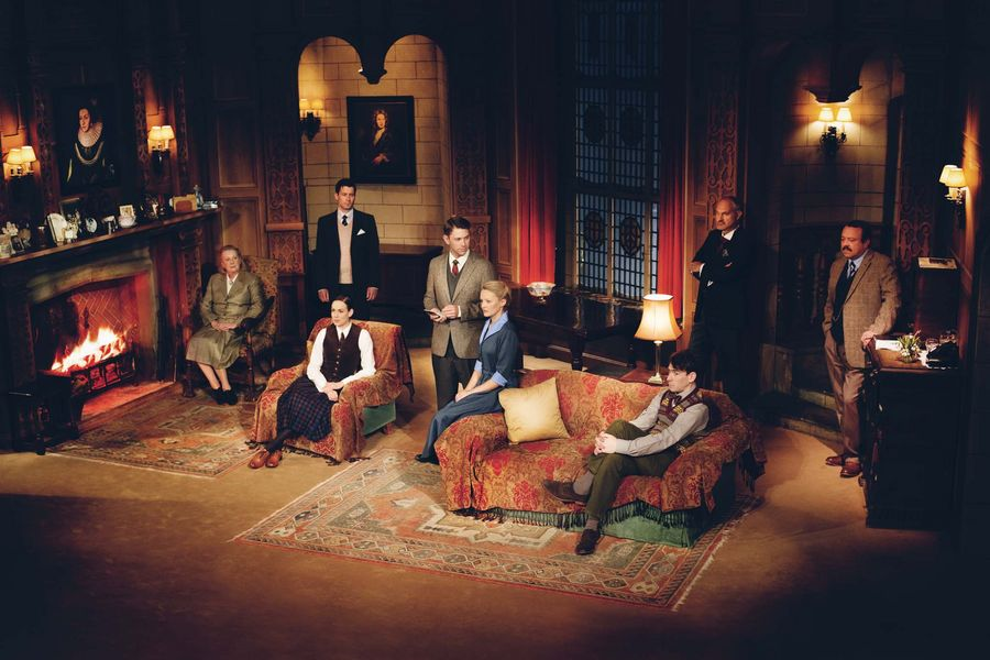 Current cast for The Mousetrap