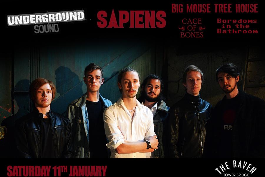 Sapiens - Underground Sound Presents