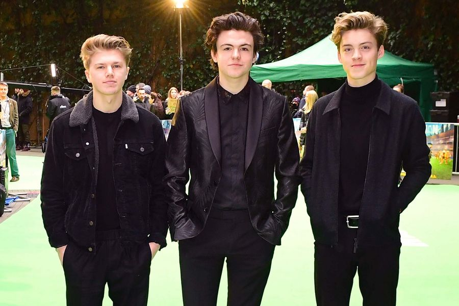 New Hope Club attending the Early Man World Premiere held at the BFI Imax, London