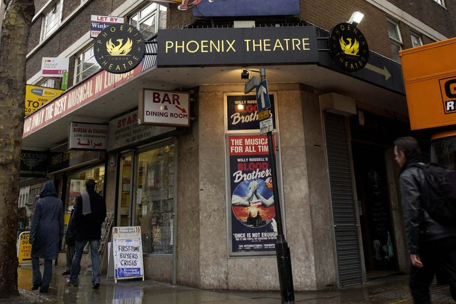 The Phoenix Theatre on Charing Cross Road, central London