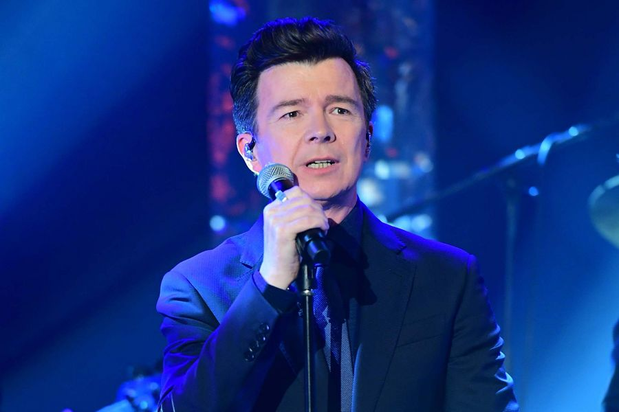 Rick Astley during the filming of the Graham Norton Show at BBC Studioworks 6 Television Centre, Wood Lane, London