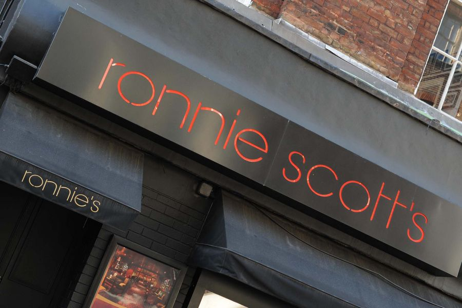 General view of Ronnie Scott's, London