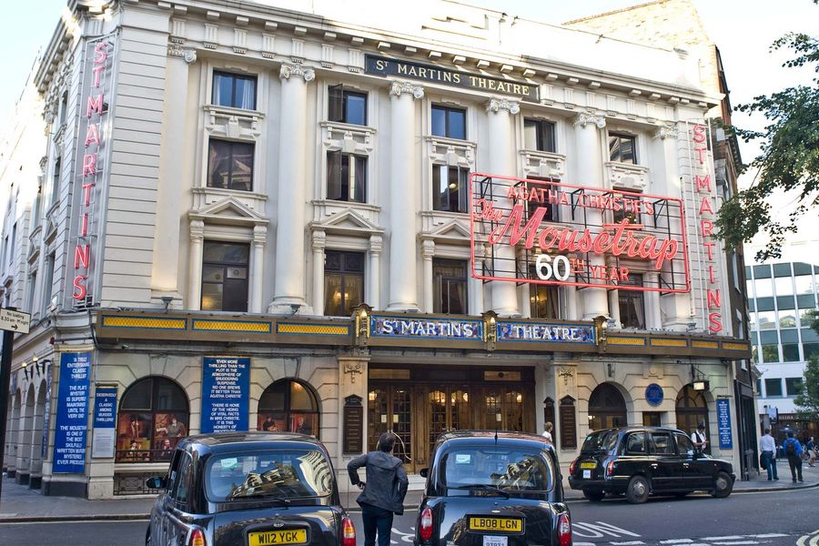 St Martins Theatre in Soho, London