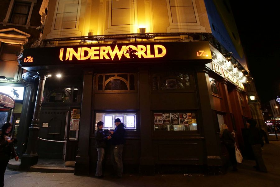 The Underworld music venue in Camden, London