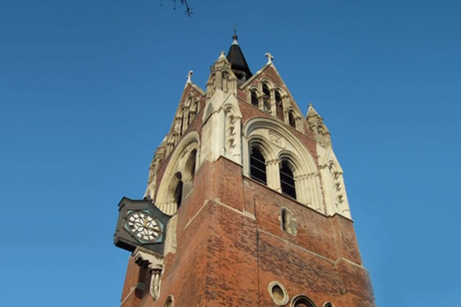 An exterior image of Union Chapel in London