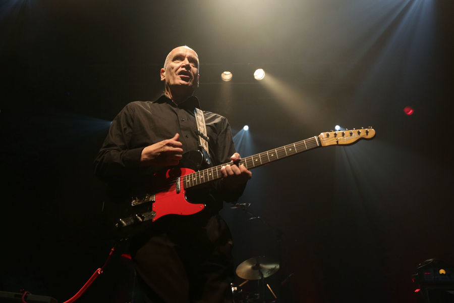 Wilko Johnson performing on stage at Koko in Camden, north London