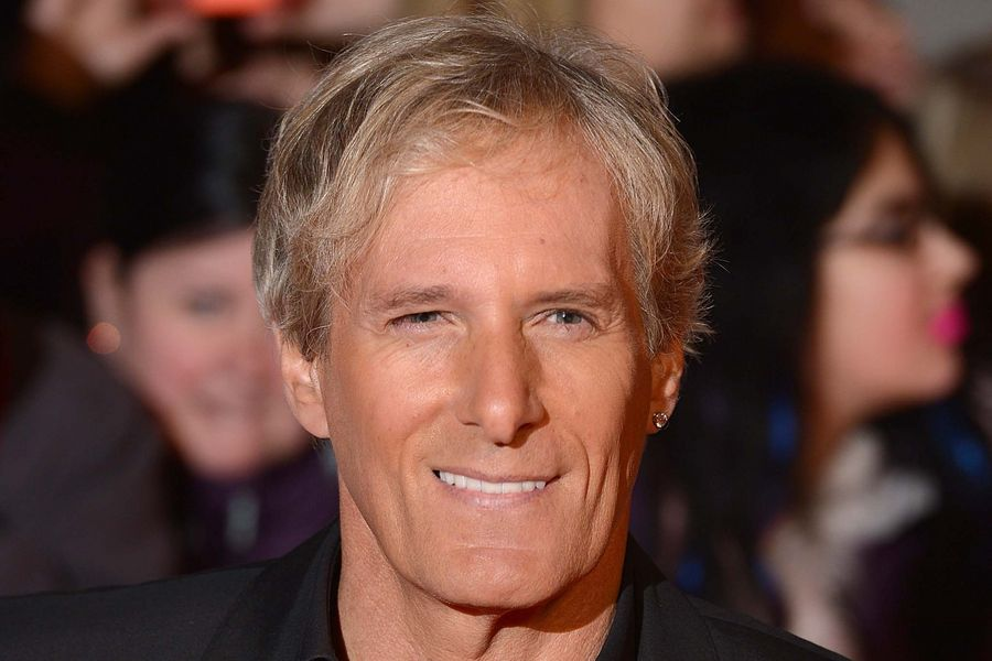Michael Bolton arriving for the 2014 National Television Awards at the O2 Arena, London