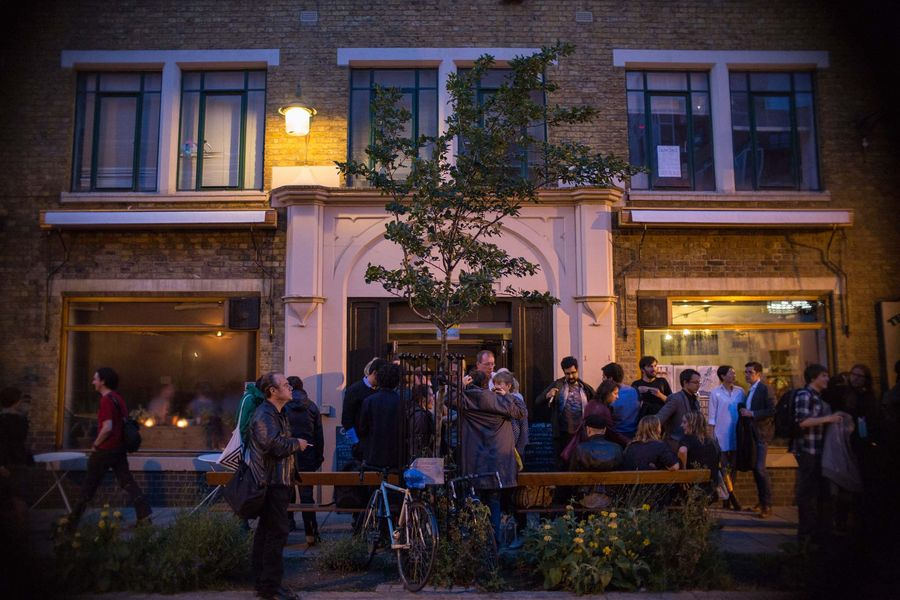 A general exterior image of Cafe Oto