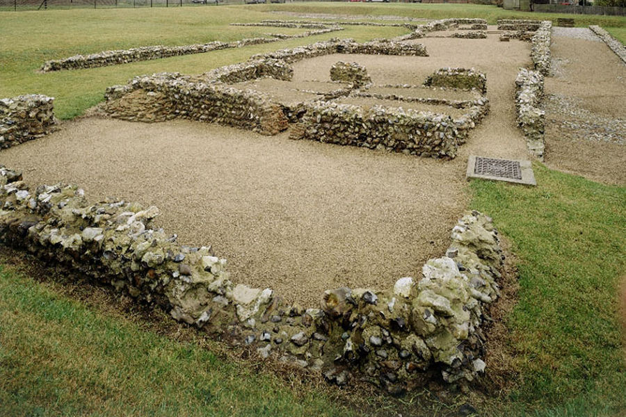 English Heritage: Caister Roman Fort