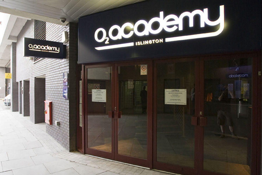 A general exterior image of the O2 Academy, Islington