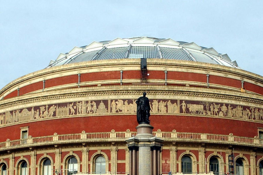 General View of the Royal Albert Hall in London