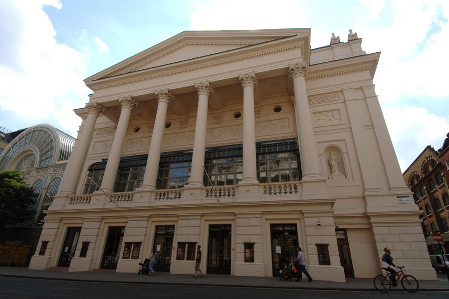 A general view of the Royal Opera House, Covent Garden, Central London