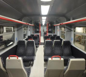 New train seats