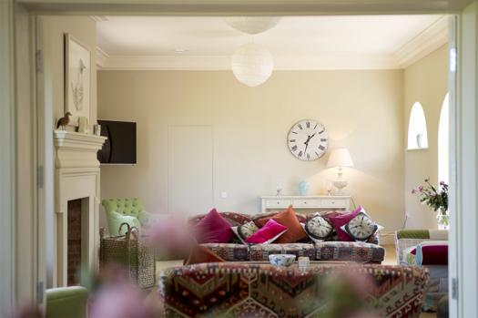 The Clockhouse living room at Wilderness Reserve