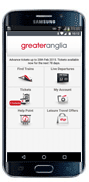 Greater Anglia Ticket App