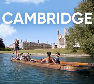 Visit Cambridge by train and discover a city rich in culture