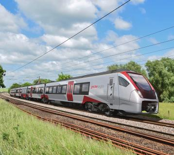 An image of the new train