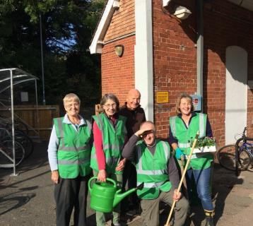 Whittlesford station adopters