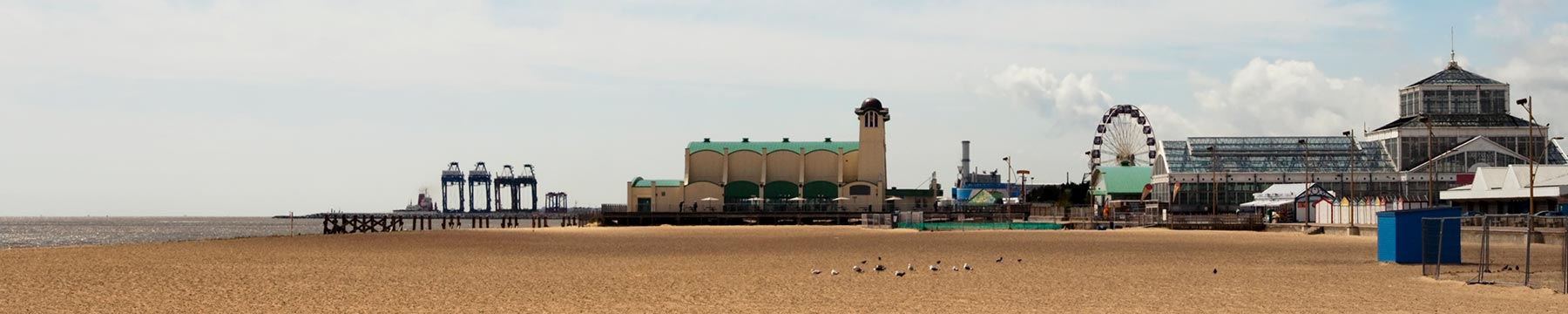 The beach at Great Yarmouth