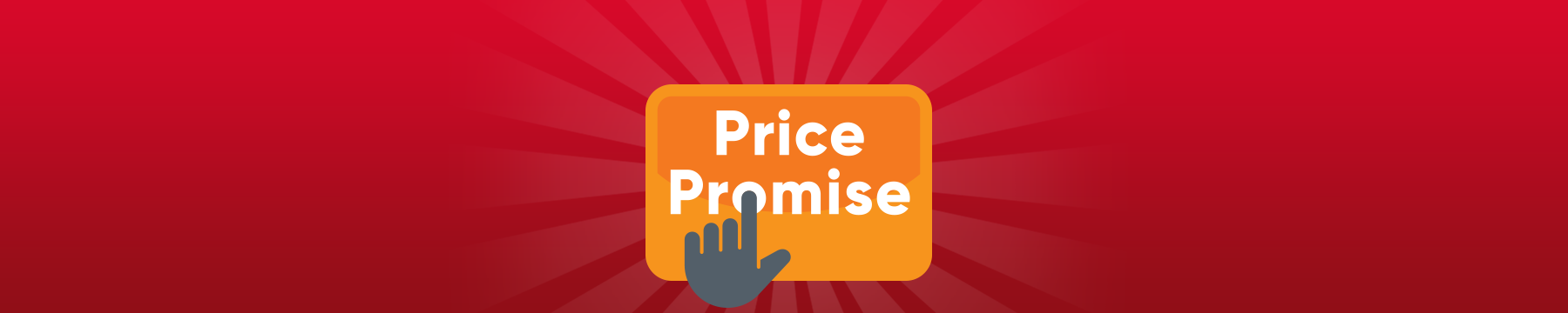 Price promise banner