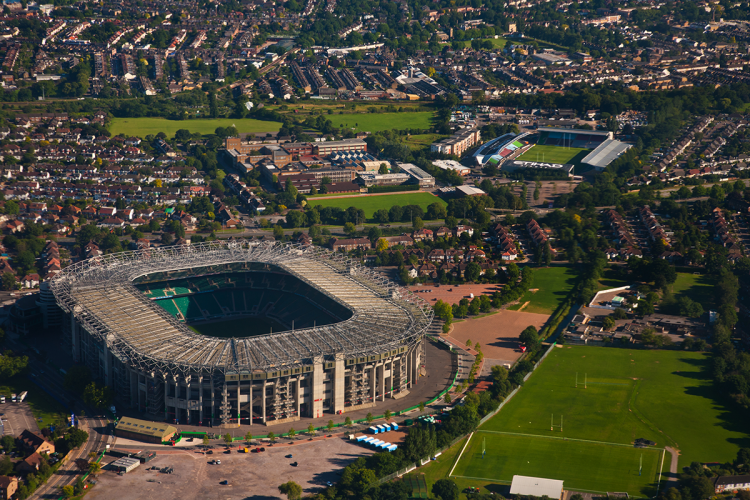 The World Rugby Museum is at Twickenham Stadium