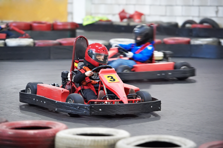 Try karting at Anglia Indoor Karting