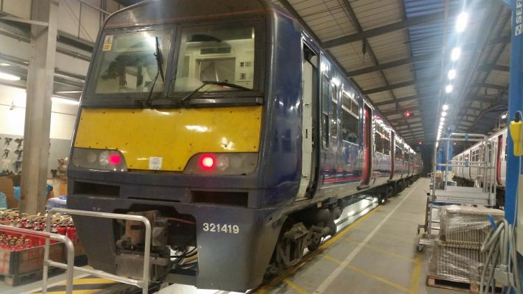 Greater Anglia Hires Additional Trains For Essex Commuter
