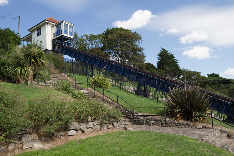 The Cliff Lift in Southend