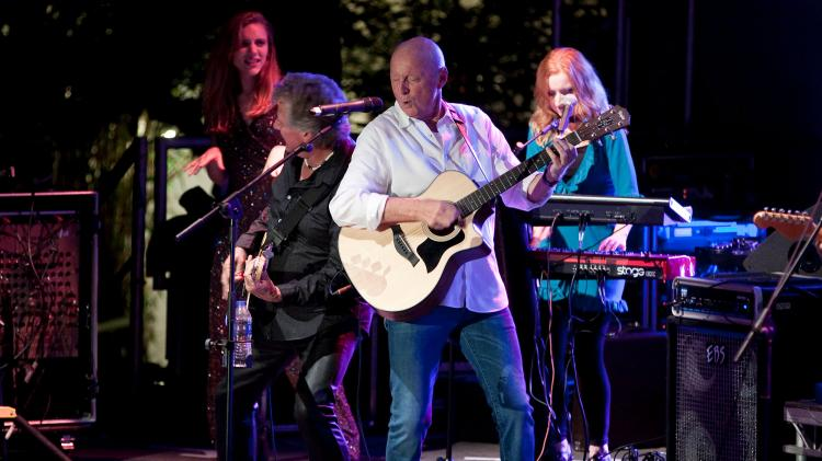 Jasper Carrott plays at last year's Holt Festival