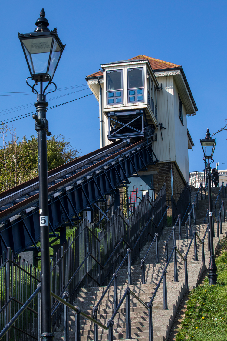 Southend-on-Sea's cliff lift