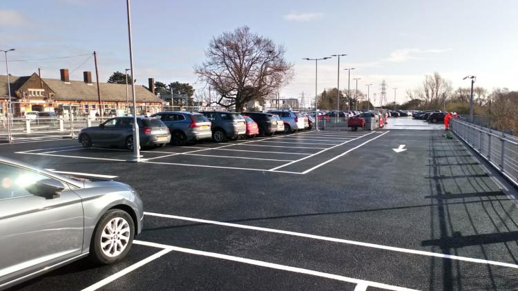 New spaces at Manningtree car park