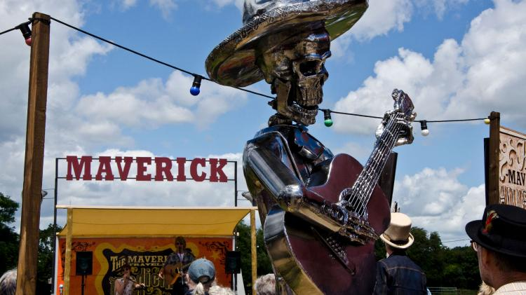 Maverick Festival has some obvious American roots
