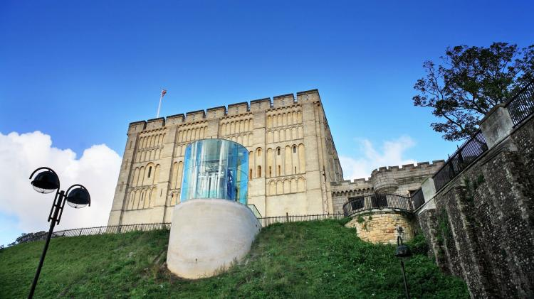 There's plenty to see for couples at Norwich Castle